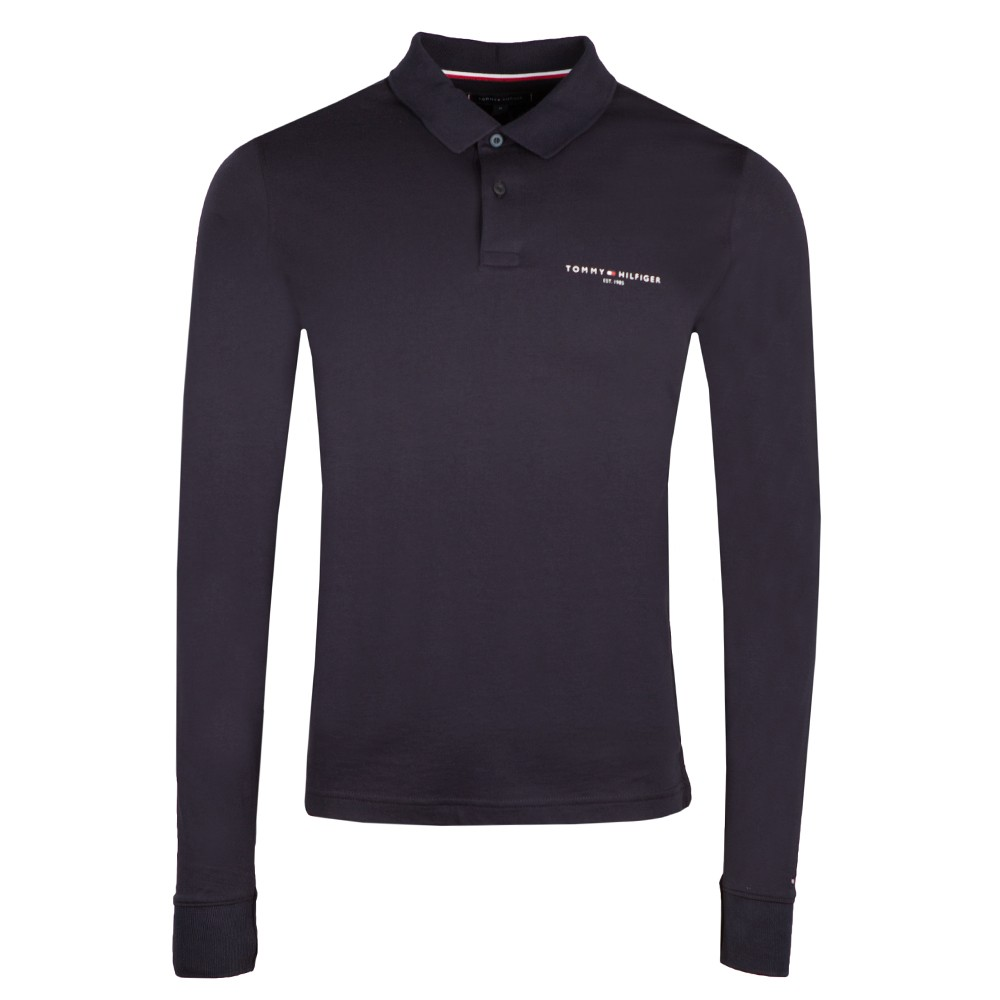 Clean Jersey LS Polo main image