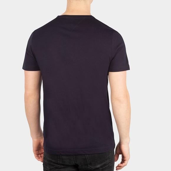 Tommy Hilfiger Mens Blue Lines Hilfiger T-Shirt main image