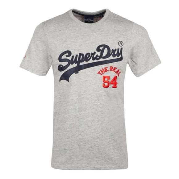 Superdry Mens Grey VL Source T-Shirt main image