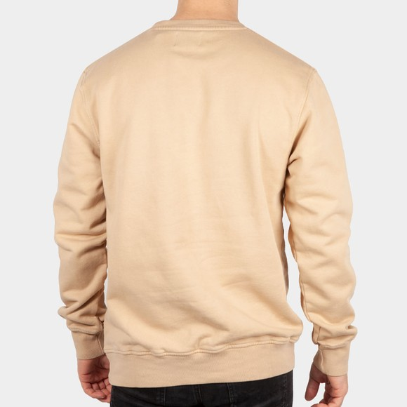 Colorful Standard Mens Beige Organic Crew Sweatshirt main image