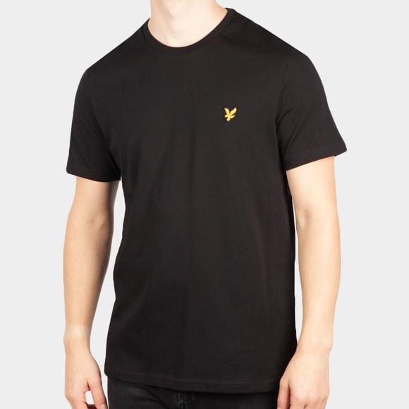 Lyle and Scott Mens Black Basic T-Shirt