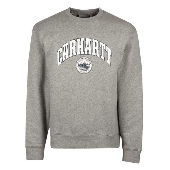 Carhartt WIP Mens Grey Berkeley Sweatshirt