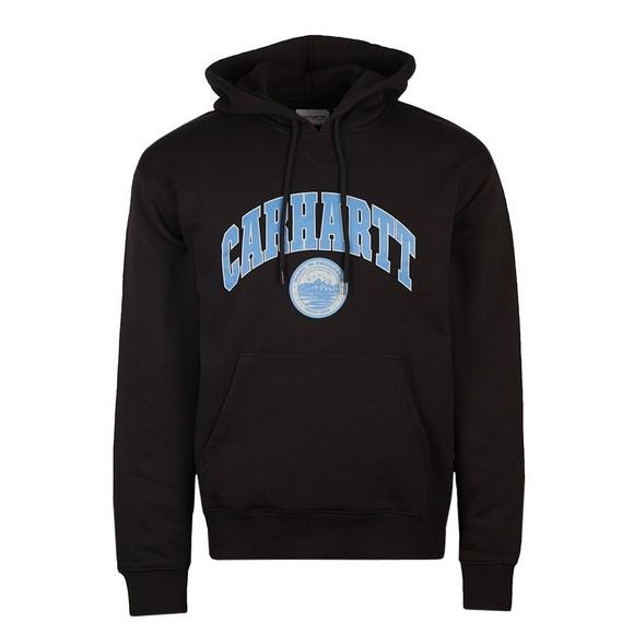 Carhartt WIP Mens Black Berkeley Hooded Sweatshirt