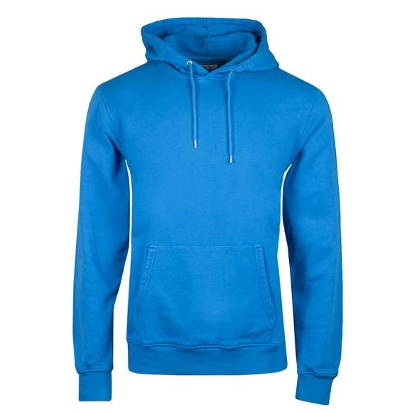 Colorful Standard Mens Blue Classic Organic Hoodie