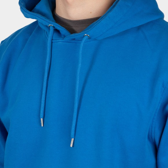 Colorful Standard Mens Blue Classic Organic Hoodie main image