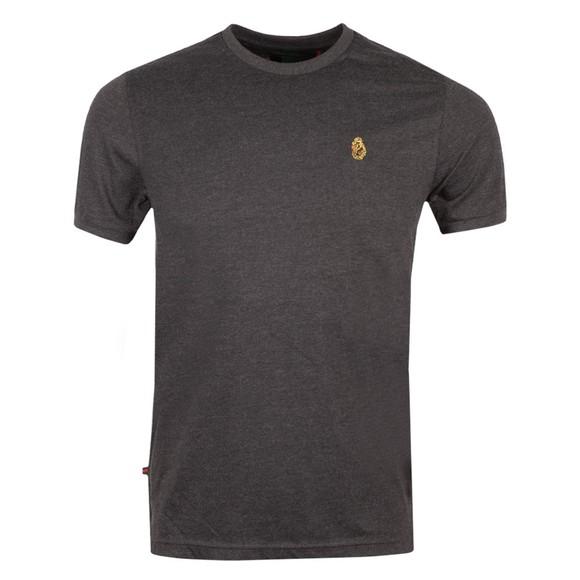 Luke 1977 Mens Grey Traff Core Crew T-Shirt