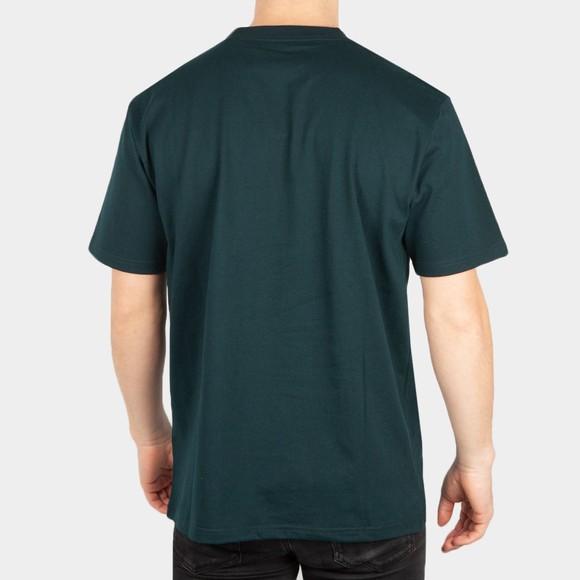 Carhartt WIP Mens Green University T-Shirt main image