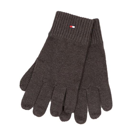 Tommy Hilfiger Mens Grey Pima Cotton Gloves