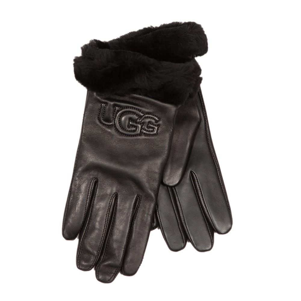 Classic Logo Leather Glove main image