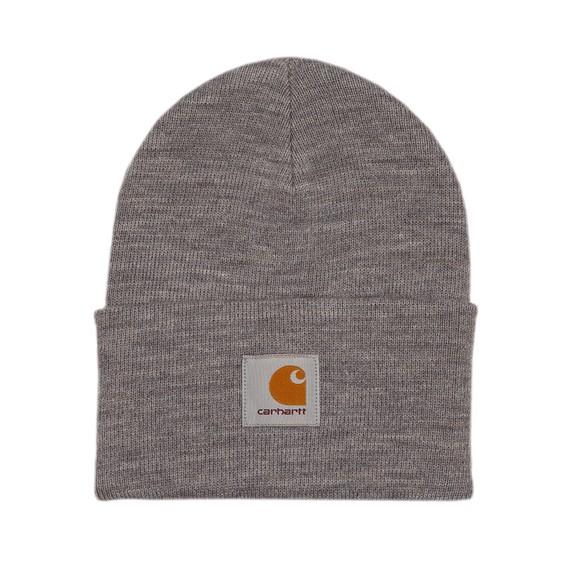Carhartt WIP Mens Grey Acrylic Watch Hat main image