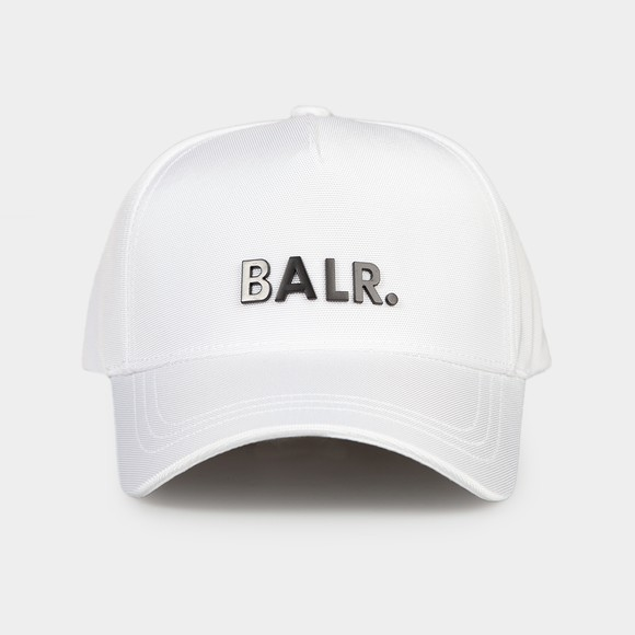 Balr Mens White Classic Oxford Cap