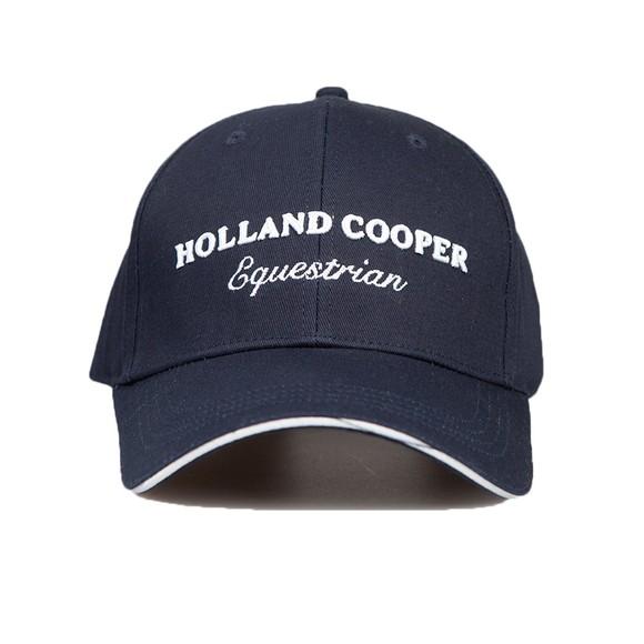 Holland Cooper Womens Blue HC Equestrian Cap