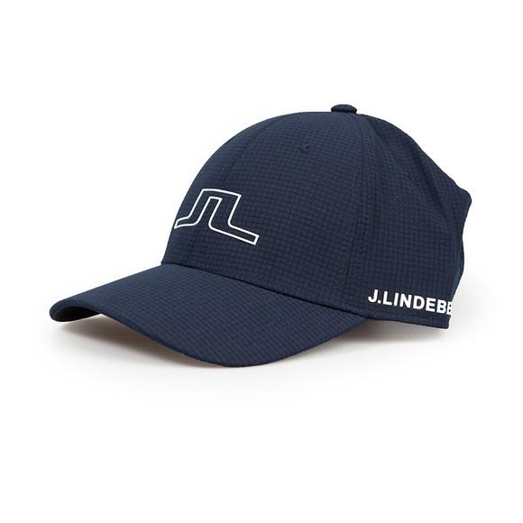 J.Lindeberg Mens Blue Caden Golf Cap