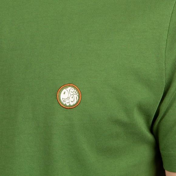 Pretty Green Mens Green Mitchell T-Shirt main image