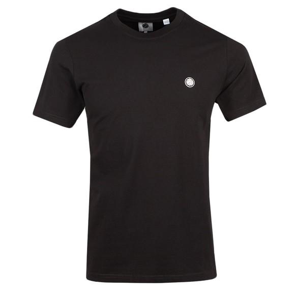 Pretty Green Mens Black Mitchell T-Shirt main image