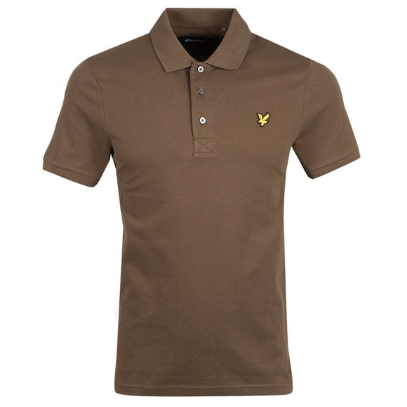 Lyle and Scott Mens Green Polo Shirt