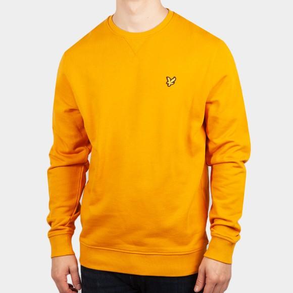 Lyle and Scott Mens Multicoloured Crew Neck Sweatshirt