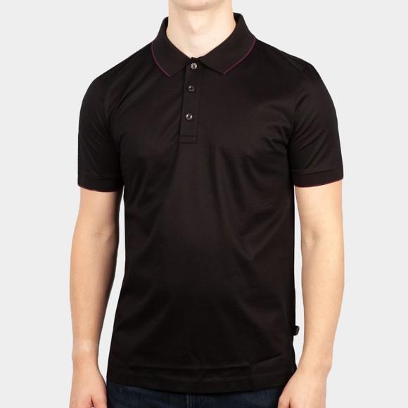 BOSS Mens Black Formal Phillipson 97 Polo Shirt