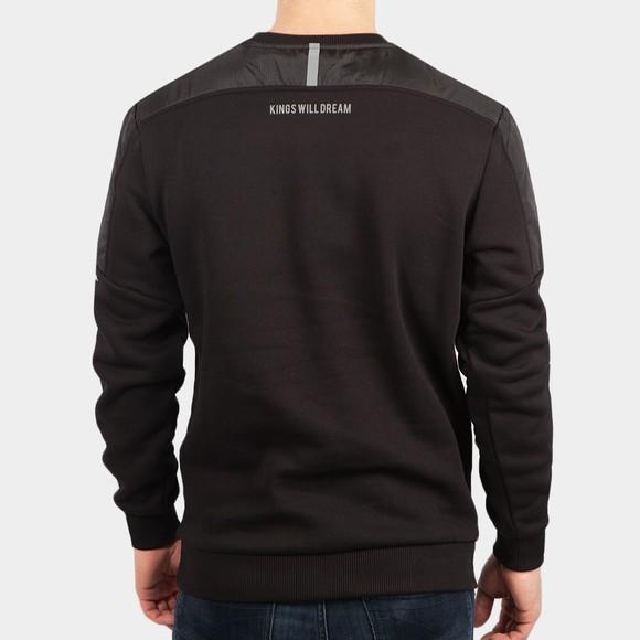 Kings Will Dream Mens Black Landon Crew Sweatshirt main image