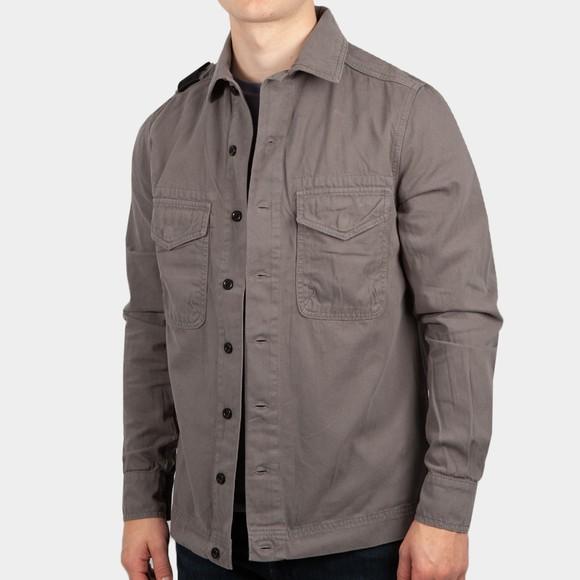 Ma.Strum Mens Grey Two Pocket Shirt