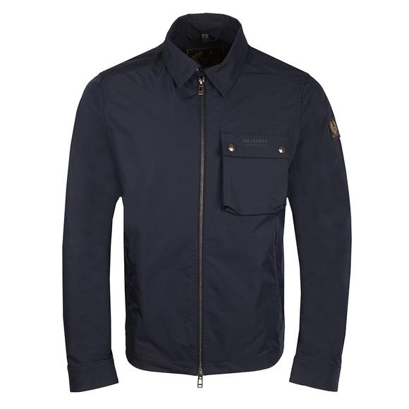 Belstaff Mens Blue Wayfare Overshirt