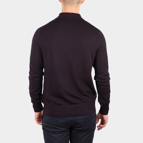 Ted Baker Mens Blue L/S Core Polo Shirt main image