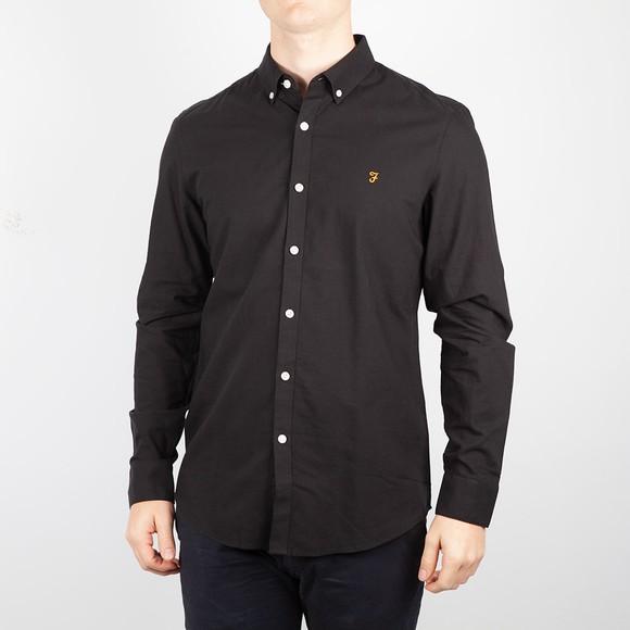 Farah Mens Black Brewer Shirt