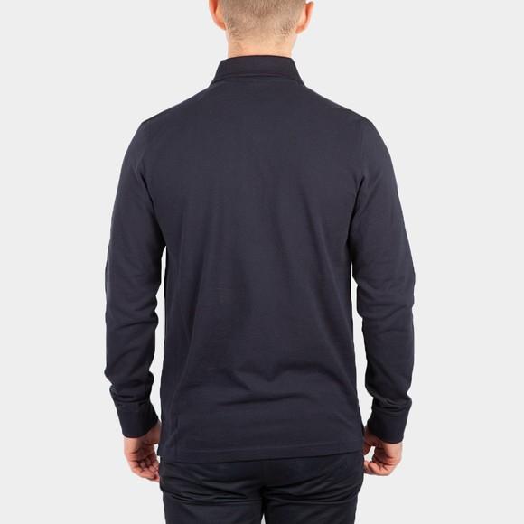 Belstaff Mens Blue Essential Long Sleeve Polo Shirt main image