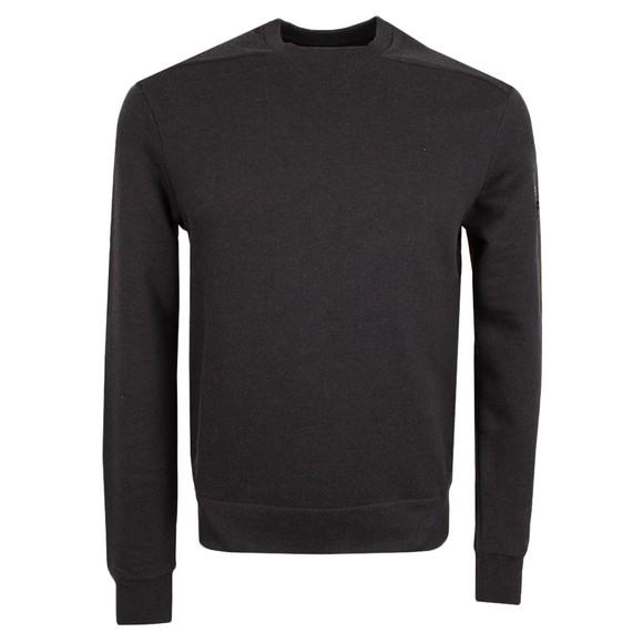 Esemplare Mens Black Crew Sweatshirt
