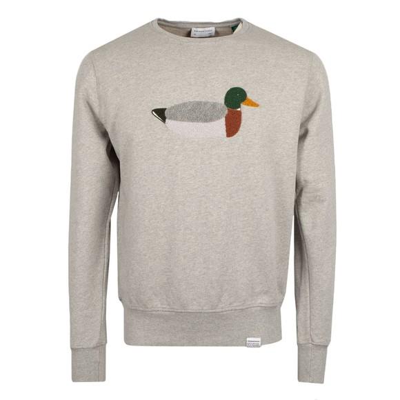 Edmmond Studios Mens Grey Duck Hunt Sweatshirt