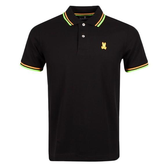 Psycho Bunny Mens Black Kells Polo Shirt main image