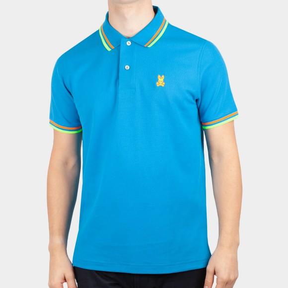 Psycho Bunny Mens Blue Kells Polo Shirt main image