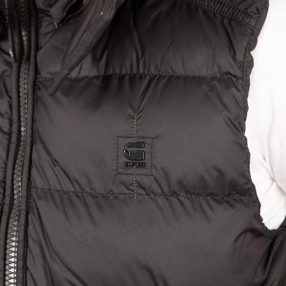G-Star Mens Black Whistler Padded Hooded Vest main image