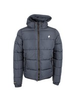 Hooded Sports Puffer Jacket