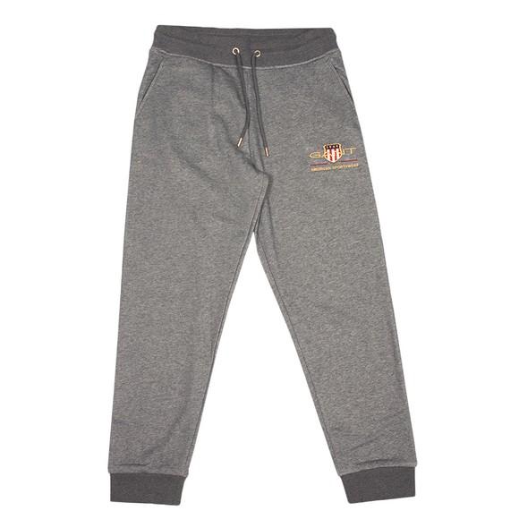 Gant Mens Grey Archive Shield Sweatpants