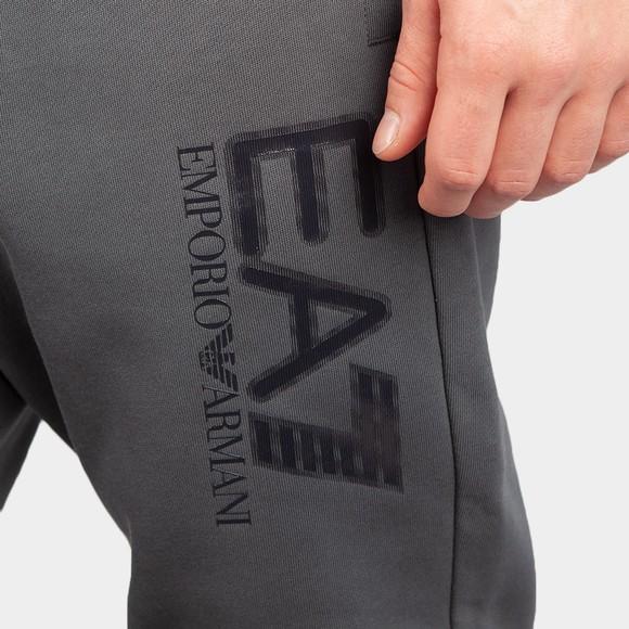 EA7 Emporio Armani Mens Grey Visibility Joggers main image