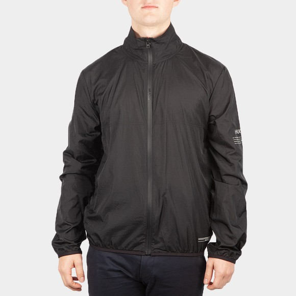 HUGO Mens Black Dathletic Light Jacket
