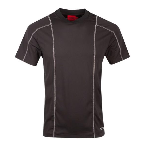 HUGO Mens Black Dotanist X T Shirt