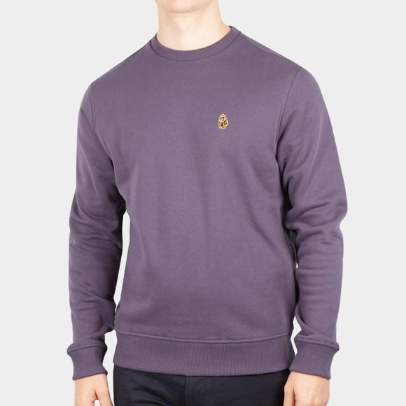 Luke Sport Mens Purple London Sweatshirt