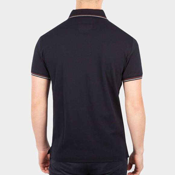 Emporio Armani Mens Blue Essential Tipped Polo Shirt main image