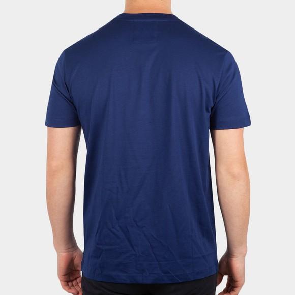 Emporio Armani Mens Blue Essential Logo T-Shirt main image