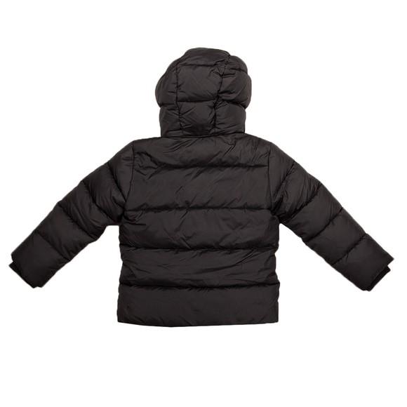 Calvin Klein Jeans Boys Black Tape Puffer Jacket