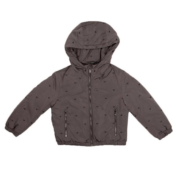 Emporio Armani Boys Grey 6K4BJ9 Logo Jacket
