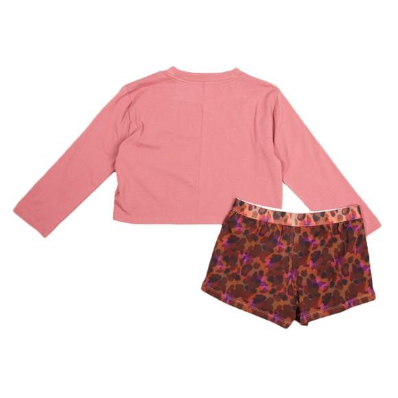 Calvin Klein Girls Purple Short Pyjama Set