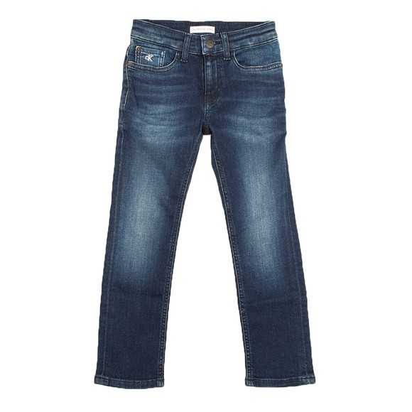 Calvin Klein Jeans Boys Blue Slim Essential Jean