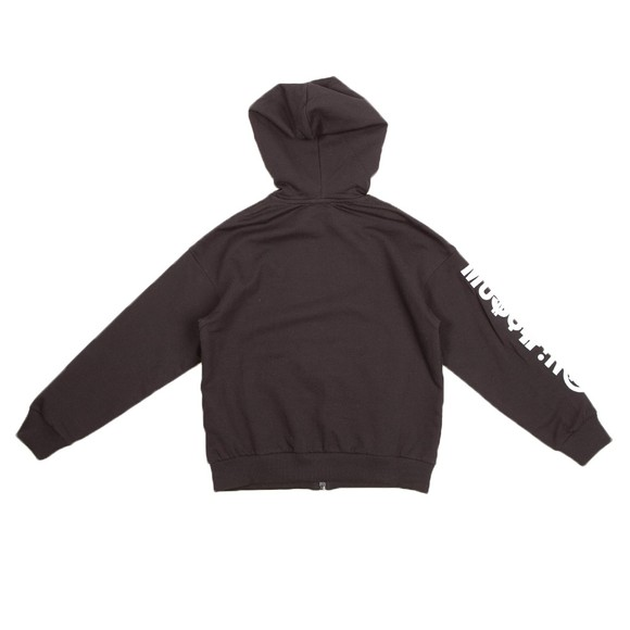 Moschino Boys Black Embroidered Logo Zip Tracksuit main image