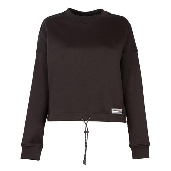 HUGO Womens Black Daluise Sweatshirt