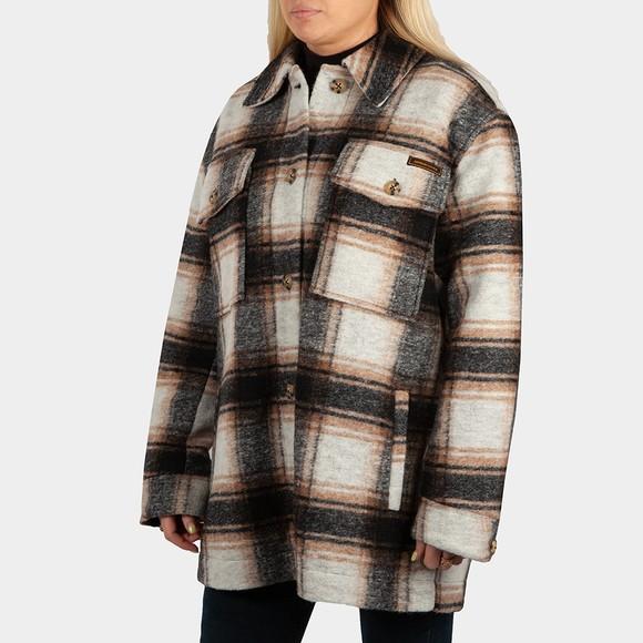 Superdry Womens Multicoloured Overshirt Jacket