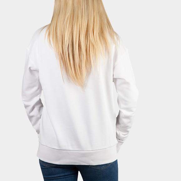 HUGO Womens White Nakira 5 Sweatshirt main image
