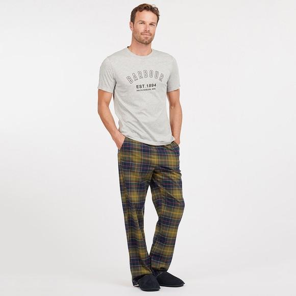 Barbour Lifestyle Mens Green Glenn Tartan Pyjama Trouser main image